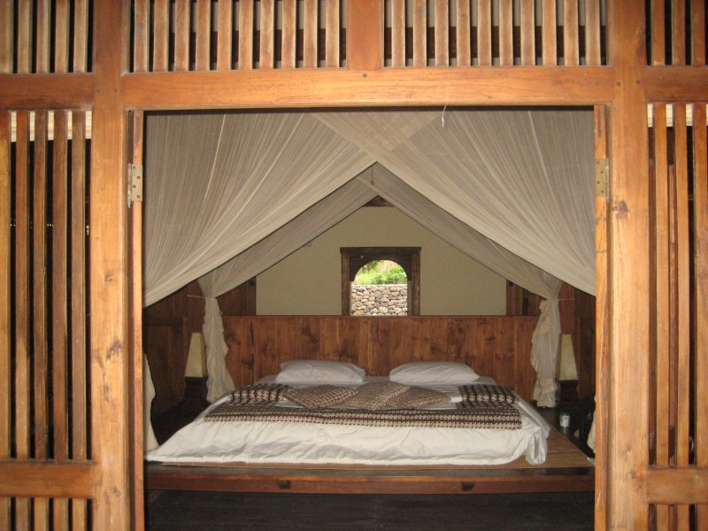 Our cabin on Gili T