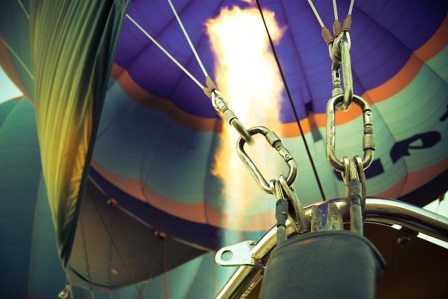 Goreme, Turkey. Hot air ballooning