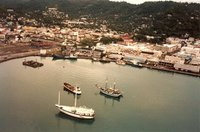 Saint Lucia  - Castries - helicopter 6sm