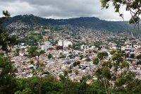 Honduras - Tegucigalpa - city and hills