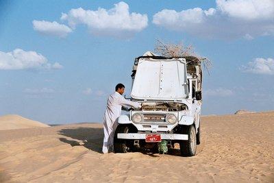Desert transport over heating