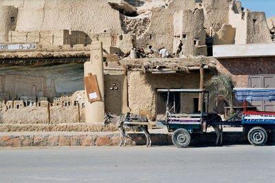 Taxi Rank at Siwa Shali