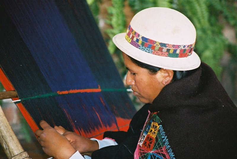 Weaver in Sucre