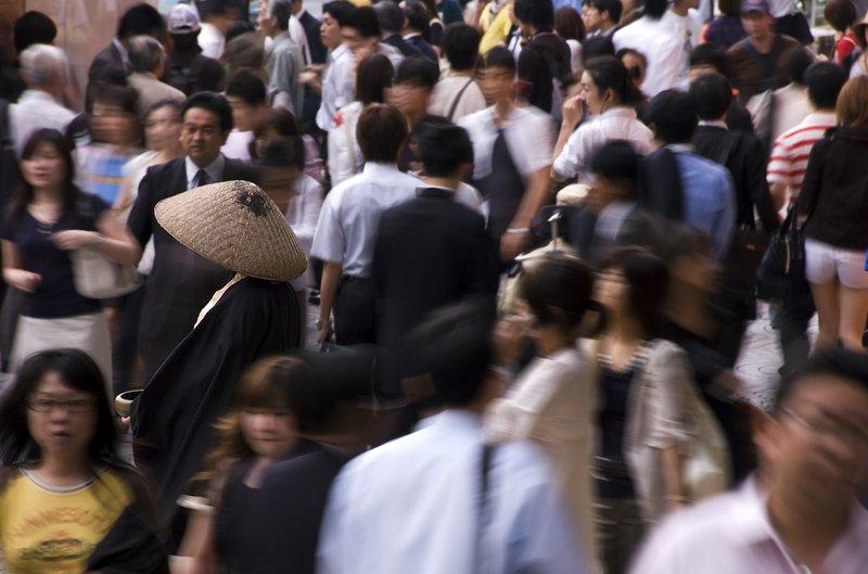 Shinjuku Monk - Tokyo, Japan