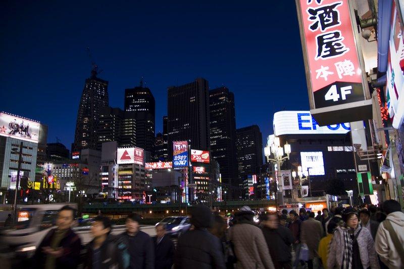 Shinjuku Dusk