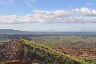 View From Atop El Volcan Masaya