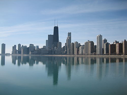 Chicago on a Perfect Day