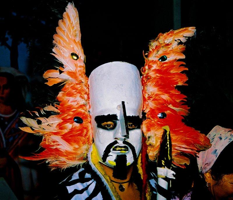 Traditional Bolivian Dance Mask - La Paz