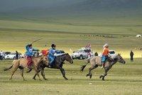 Young Jockeys at the Naadam Festival