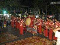 Northern Lanna Thai drumming skills