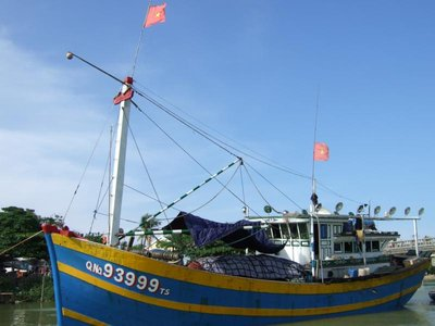 Hoi An - Hafen