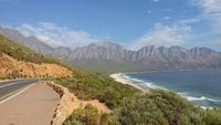 Coastal Drive from Hermanus to Cape Town