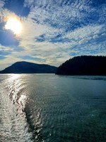 Ferry between Vancouver and Vancouver Island