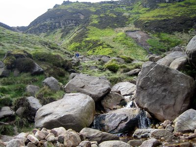 can you spot pete coming down grindsbrook ??