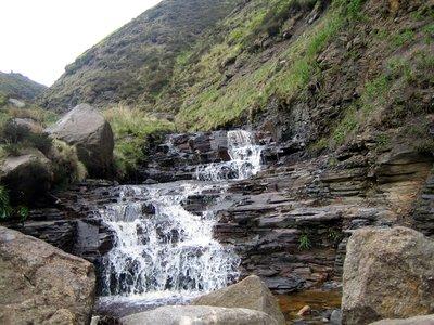 waterfall at grindsbrook