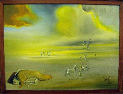 Angelic Landscape by Salvador Dali