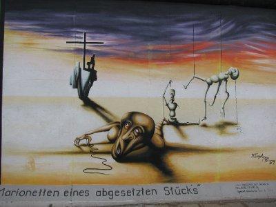 Berlin wall - Dali style