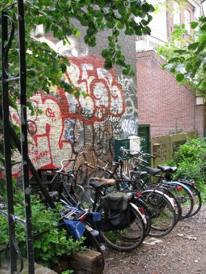 Grafitti - bicycles