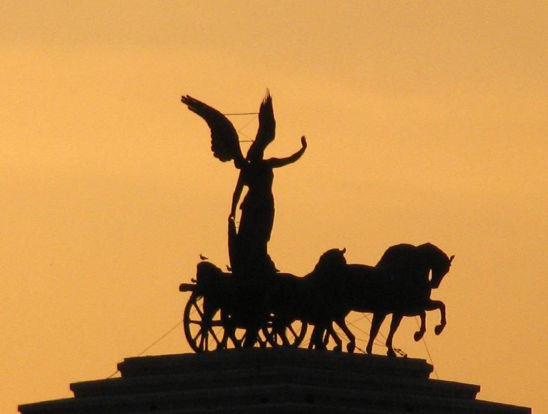 Monument to Victor Emanuel II (closeup)