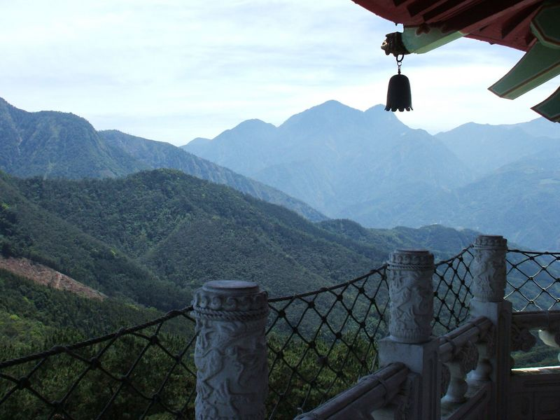 View from pagoda