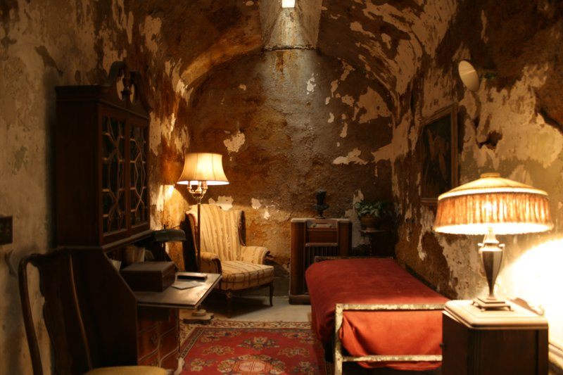 capone's cell