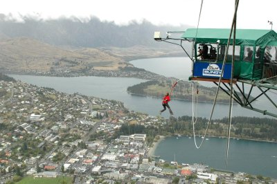 Queenstown - Kate bungyyyyyyy