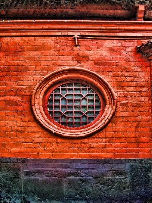 Common variety of round window