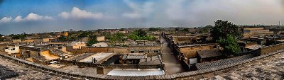 Panorama view of Pingyao