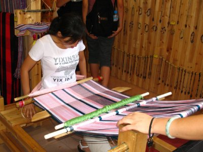 Weaving as a tourist attraction