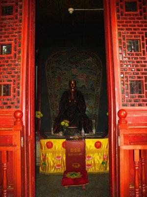 A Red Buddha