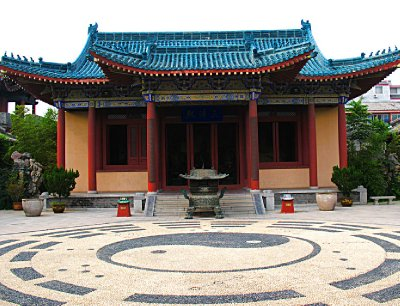 Blue Roofed prayer hall