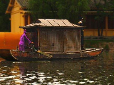 A scene on the lake
