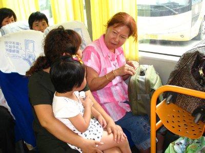 On the Bus to Zhengzhou