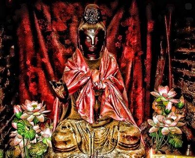 A Dark Buddha