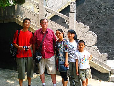 New friends and such a nice family who likes foreigners