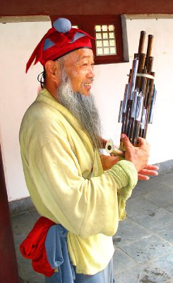 A Sheng Player