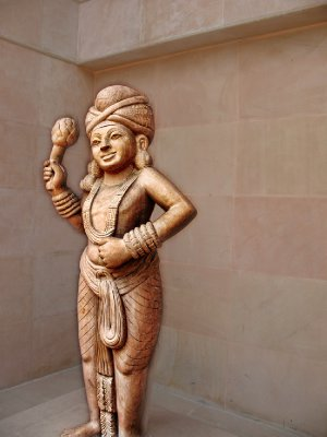Very interesting Indian-style carving