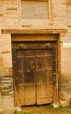 Hey, it is an old wooden Door