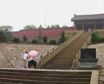 The Faxing Temple Entrance