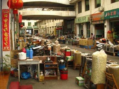 The Tunxi Tea Market