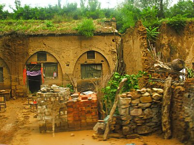 A typical Shanxi CaveHouse