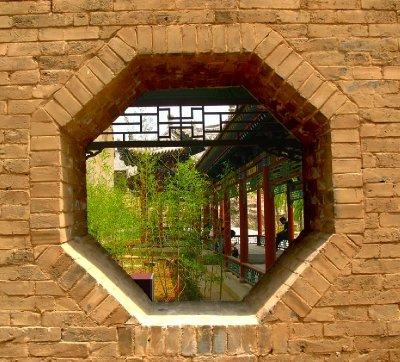 An Octagon Window