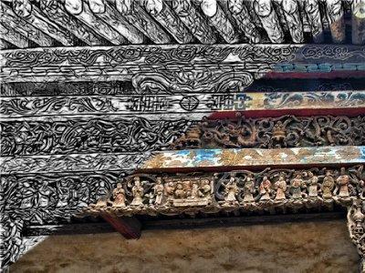 Detailed Carvings