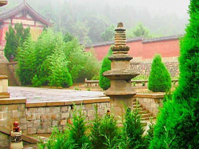 The Faxing Temple Courtyard