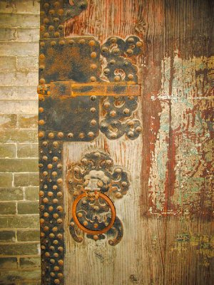 An Old Ming Door
