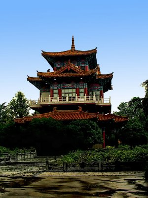 """Another """"for rest"""" Pagoda"""