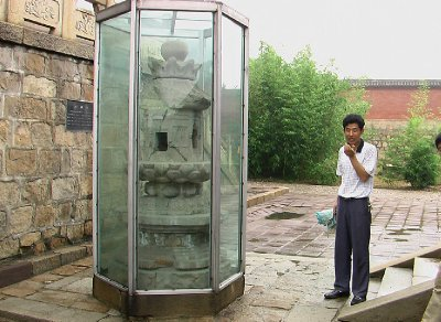 The rare Tang Dynasty Lighthouse