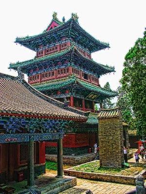 Newly renovated Pagoda