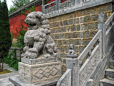 Guarding the steps
