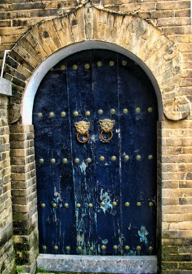 Open the Blue Door at your own risk